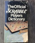 We have dozens (no joke) of these. Lonny compulsively collects them. He's giving them and a bunch of Scrabble games to a teacher who says he uses them in class. Okay.