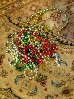 Mardi Gras beads multiply like rabbits. TRASH.