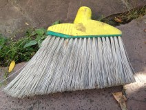 Broom without a stick. TRASH.