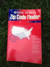 But a zipcode finder from 1994, that's a tough call. TRASH.