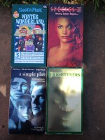 VHS (donate). Species was pretty good but really just about seeing Natasha Henstridge's boobies. Google them.