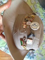 Suzi Plooster's birding hat. I don't know why we have this but the Boulder Bird Club should have it.