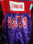 Sweet Muy Thai kickboxing shorts.