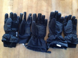 Random picture. How does this happen? Where are all the left handed gloves?