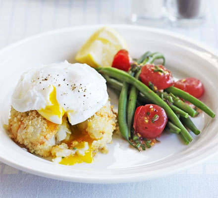 Not my picture. It's from bbcgoodfood.com, but I love the idea of serving it with a poached egg!