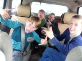 The Fun-vee was loaded up with kids