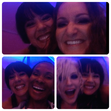 Selfying with Tracee Kafer, Pheonix Kazree and Brynn Route