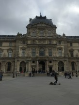 The Louvre, we didn't go in