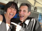 With Chip Romero, a magician