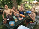 Eldorado Springs pool with buddies