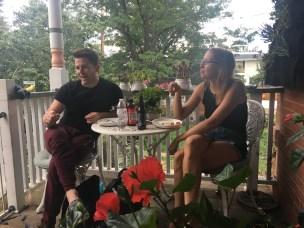 Derick Pierson and Nina