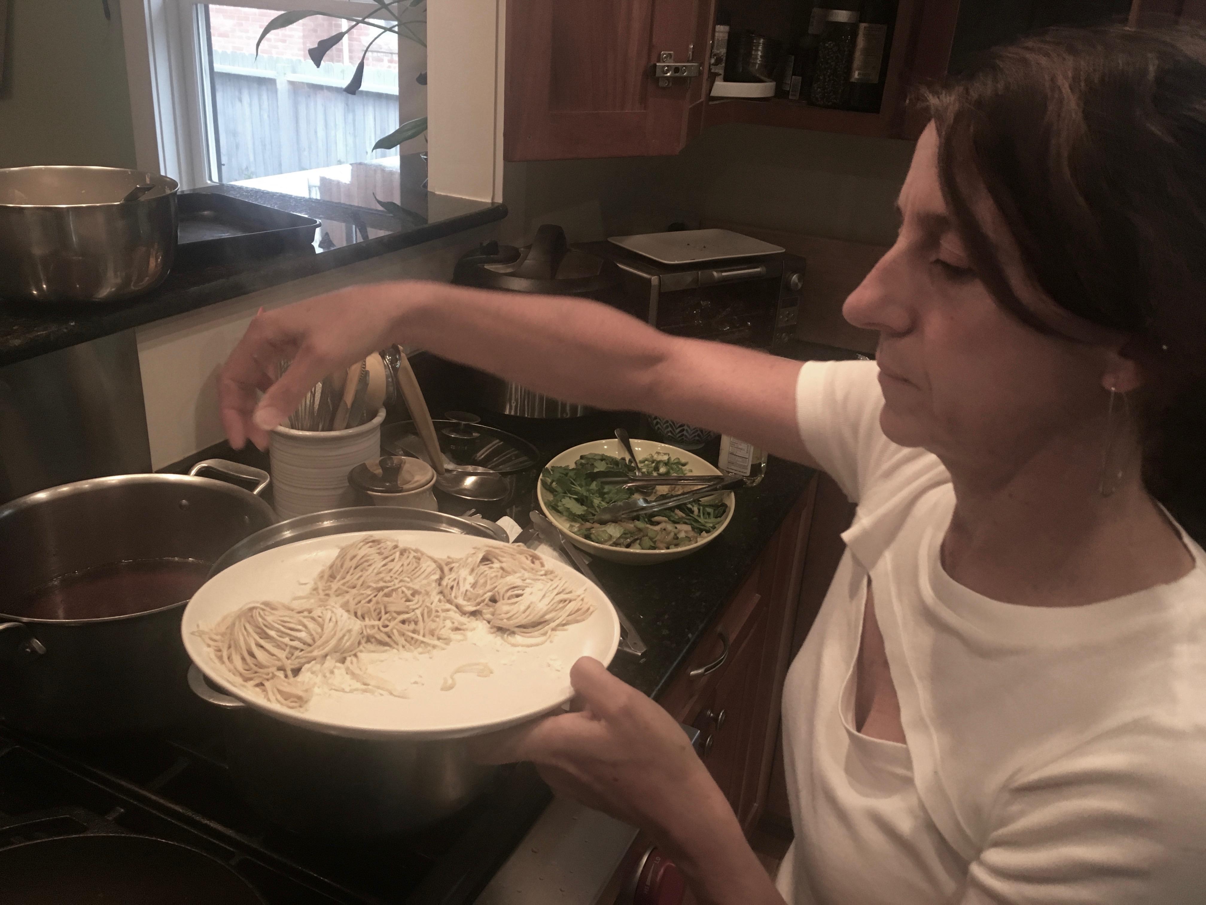 Home made noodles!