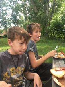 Meals outside