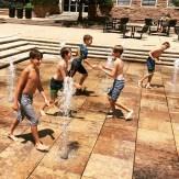 Tag in the UMC Fountain