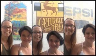 Mural selfie trifecta