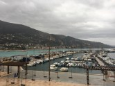 The port at Menton