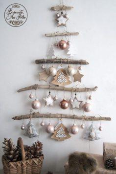 Navidad eco amigable- Árbol de Navidad diy