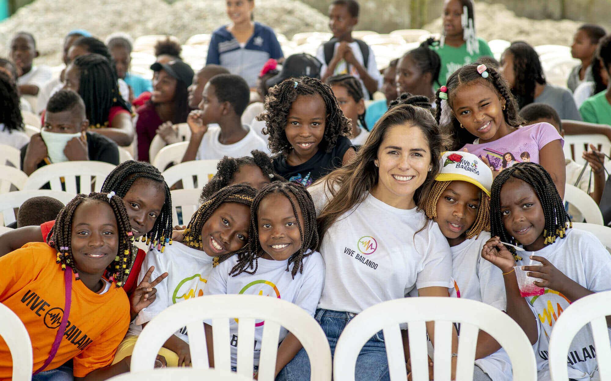Clemencia Vargas y Fundación Vive Bailando