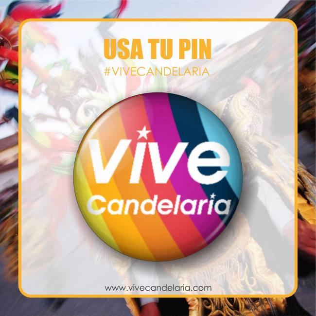 Pin Vive Candelaria