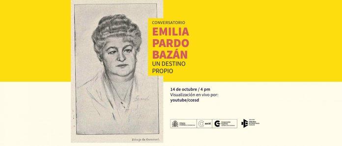 CCESD Conversatorio virtual sobre Emilia Pardo Bazán 14 de oct