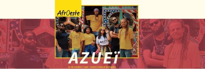 Concierto musical Azueï en el CCESD