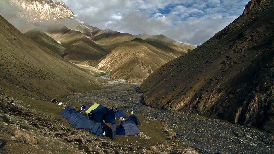 camps in himalayas