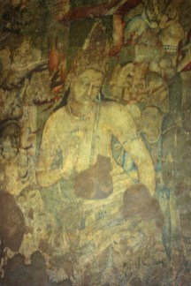Bodhisattva Padmapani - this masterpiece shows Padmapani in spiritual calm born of compassion for all living forms