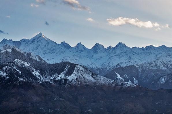 Majestic Panchchuli peaks named after Pandav brothers - Yudhisthir, Bheem, Arjun, Nakul and Sahadev