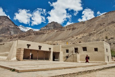 Tabo Monastery - about 1000 years old is one of the earliest monasteries in India