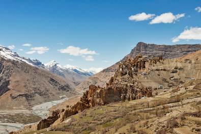 Kibber Valley - It is one of the most fragile regions in Spiti Valley