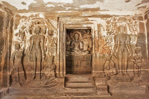 Jain temple sculptures