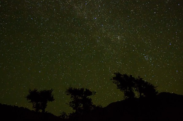 Billion stars sparkle in the Himalayan skies