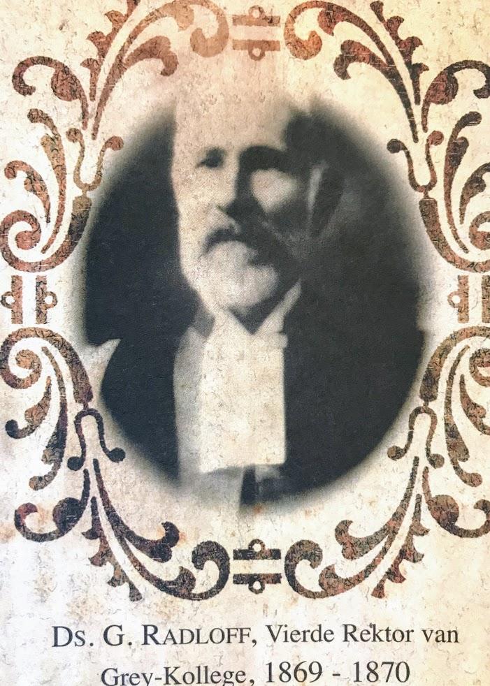 Ds. G Radloff (1869-1870)
