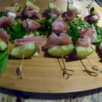 Brochettes de prosciutto et chèvre Keto cétogènes