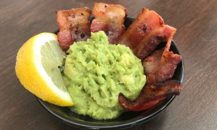 guacamole et bacon