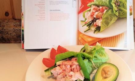 Wrap à la salade poulet et concombre