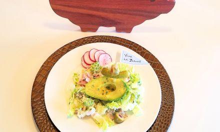 Salade de jambon forêt noir
