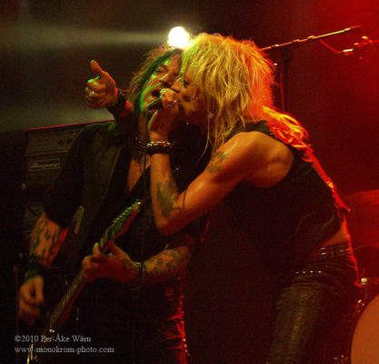 Michael Monroe Band - Sticky Fingers Gothenburg 2010