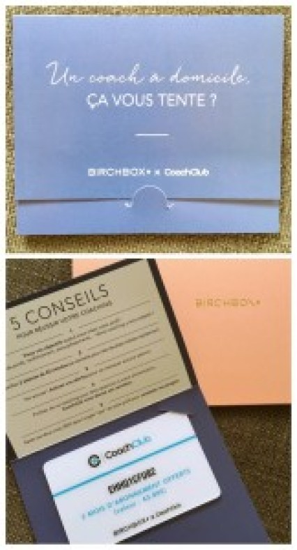 Birchbox, soin, maquillage, box