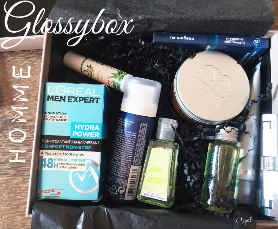 Glossybox pour les homme