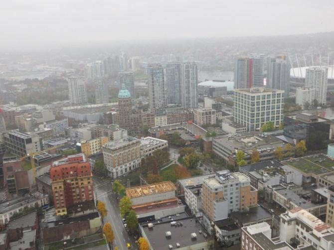 Vista do restaurante Lookout