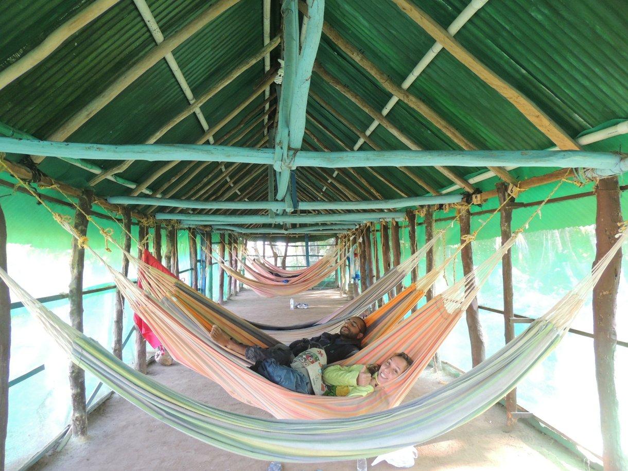 Dormitório de redes
