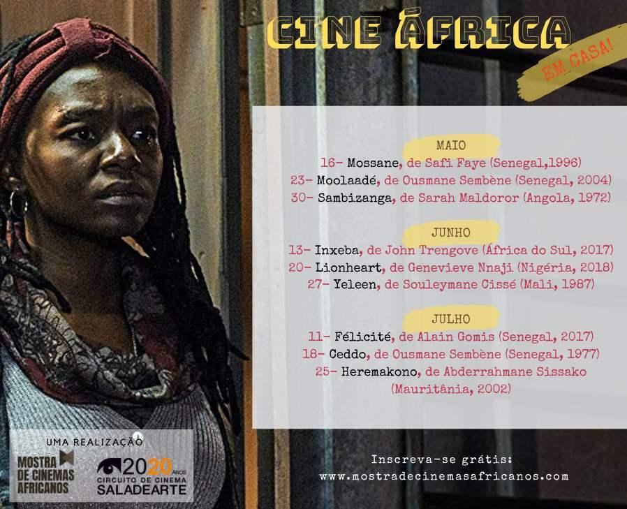 Cine África tem filmes gratuitos