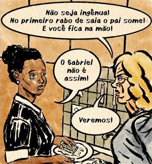 Os Santos criticam a realidade brasileira
