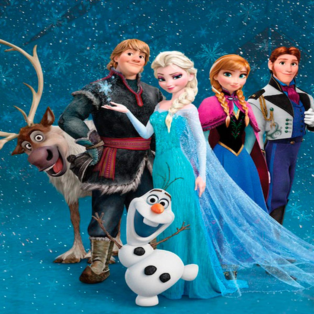 Kit Para Imprimir Frozen Viver Com Criatividade