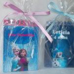 Bloquinho Personalizado Anna, Elsa e Olaf Frozen