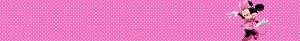 ÁGUA MINNIE ROSA Kit Digital Minnie Rosa