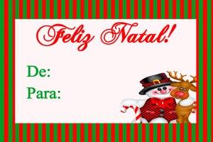 Natal - Kit Para Imprimir Grátis