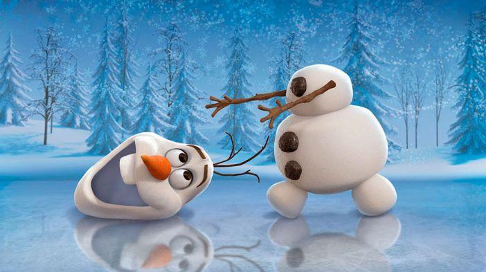 ETIQUETA ESCOLAR OLAF