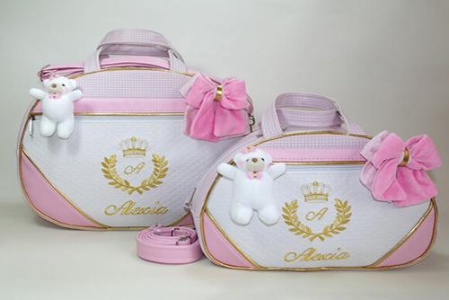 Kit Bolsa Maternidade Ursa